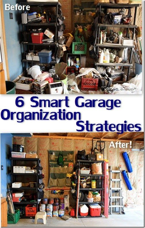 6 Smart Strategies to Organize a Garage and Workshop and Without Getting Overwhelmed. Smart!