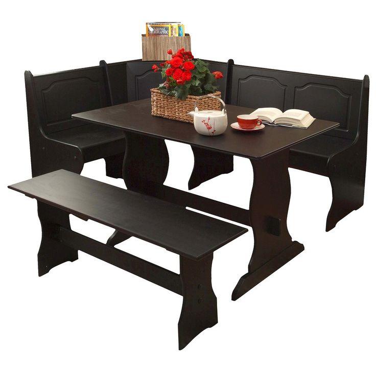 Nook Dining Collection Wood/Black   TMS. Kitchen NookKitchen TablesKitchen  ...