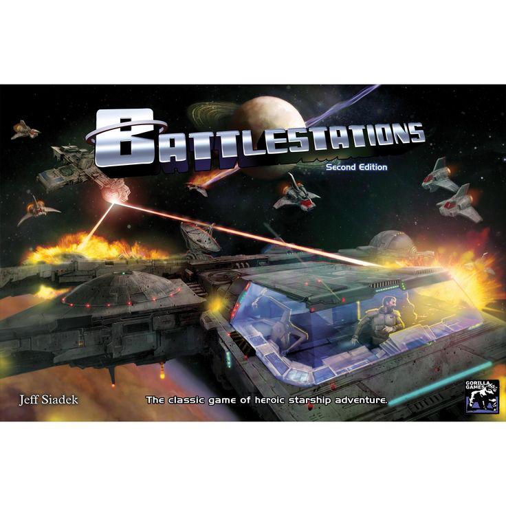 Battlestations 2nd edition board game board games