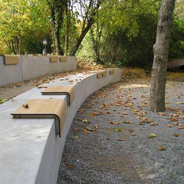 conceptLANDSCAPE, Banco, exterior, muebles urbanos, jardin