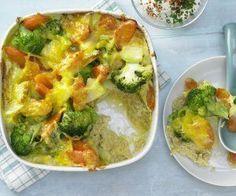 Rezept: Gemüse-Reis-Auflauf