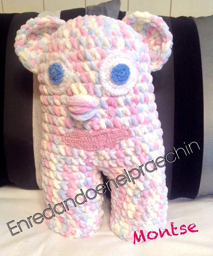 Monstruita Sofia. Ganchillo / crochet
