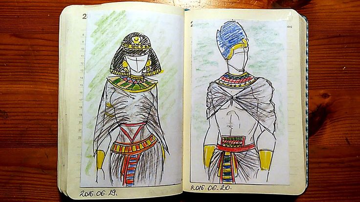 Egypt traditional clothing
