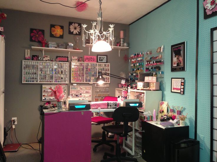 My salon would most likely look like this lol