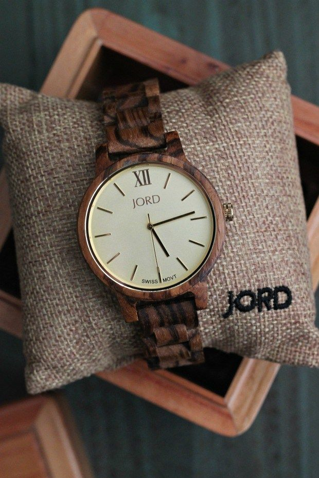 Would you wear a wood watch? I am in love with my Frankie watch from Wood Watches by JORD