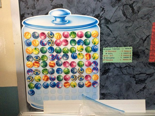 Classroom Marble Jar Ideas : Quiet and unbreakable marble jar whole class reinforcement