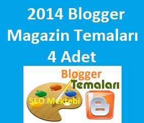 Çok Kaliteli 2014 Blogger Magazin Temaları 4 Adet Bu sayfada Blogger için düzenlenmiş Blogger Magazin temalarını şablonlarını bulabilirsiniz.