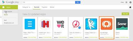 MyHeritages mobilapp är denna vecka en utvald app på Google Play! Har du den inte på din mobil? Varför inte då ladda hem den gratis?