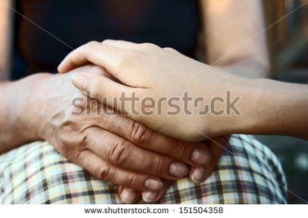 Grandmother Close Up Hands Archivní fotografie. | Shutterstock