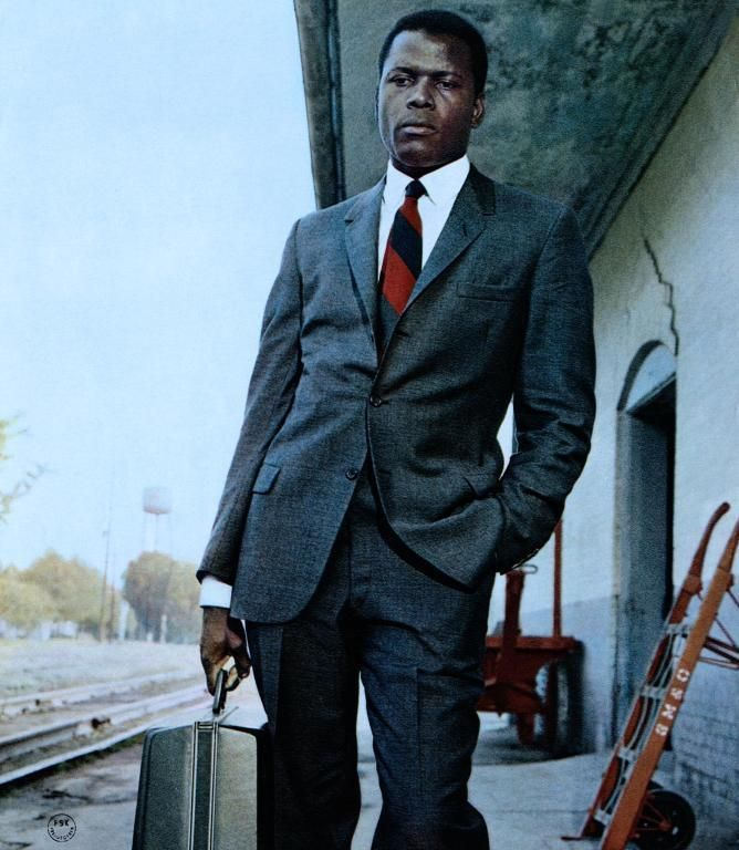 Sidney Poitier as Detective Virgil Tibbs (In the Heat of the Night)