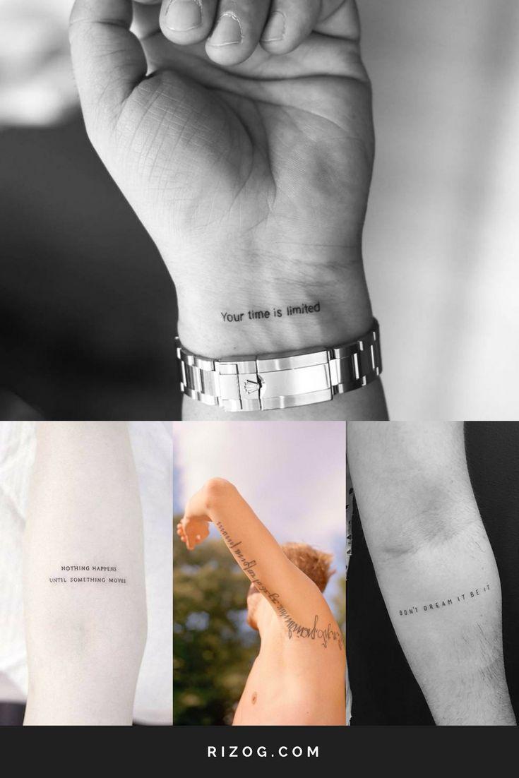 Tatuaje En El Brazo Para Hombres 2020 - Significado, Diseños, Imagenes - | Frases  para tatuajes hombres, Tatuajes para hombres en el antebrazo, Tatuaje  resiliencia