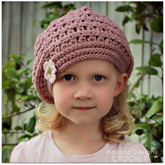 Download Now - CROCHET PATTERN Mia Beret - Sizes Baby to ...