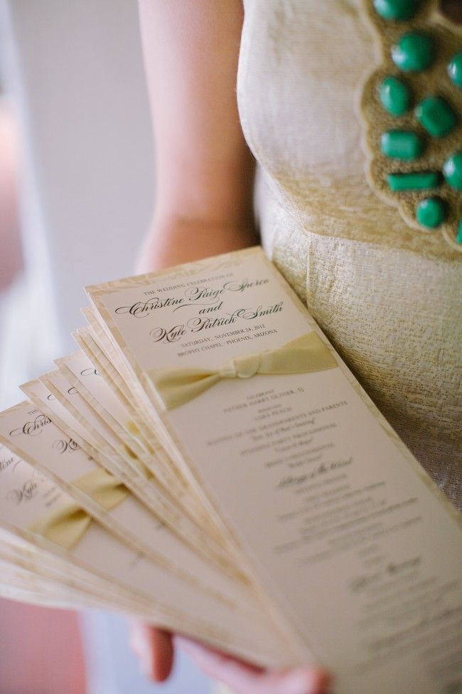17 Best images about Wedding church program ideas on
