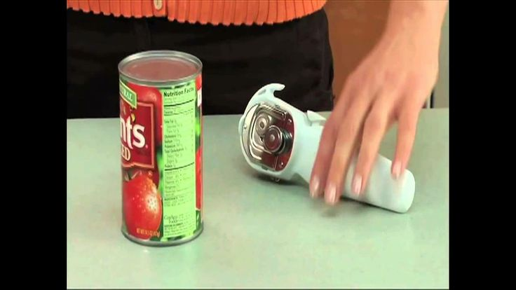 Pampered Chef Can Opener - The Smoother Way to Open Cans  The only can opener I will ever own! Love this thing!