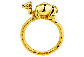 One Kings Lane - The Luxe Look - Camel Ring