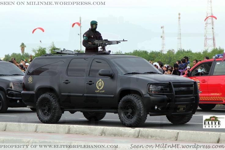Qatar Armed Forces Chevrolet Suburban Of The Emiri Guard