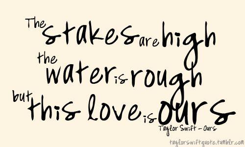 sing it Taylor