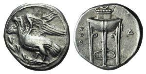 Bruttium, Kroton, c. 350-300 BC. AR Stater ...