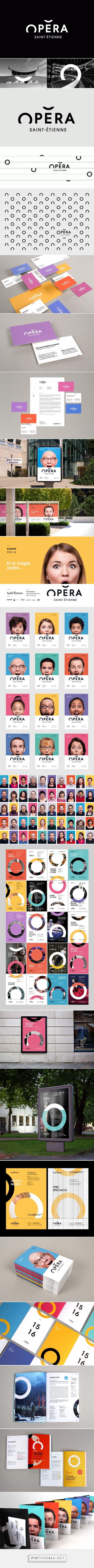 Identité visuelle Opéra de Saint-Étienne - Graphéine - Agence de communication Paris LyonGraphéine – Agence de communication Paris Lyon - created via http://pinthemall.net