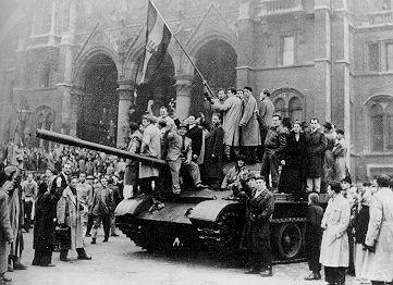 Hungary Revolution of 1956.