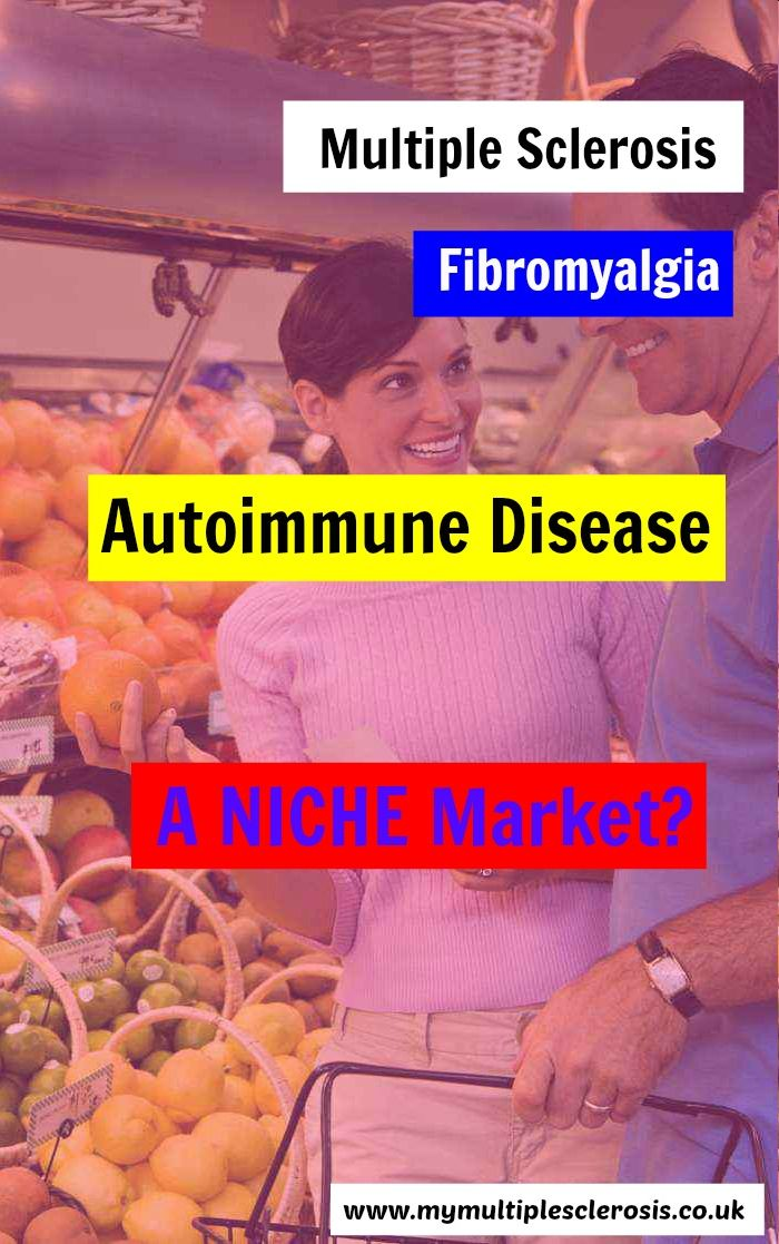 Is #autoimmunedisease too narrow a field for a business opportunity? Stephen hopes not. http://mymultiplesclerosis.co.uk/blog/niche-market-multiple-sclerosis/