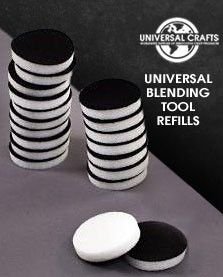 Universal Crafts - Universal Ink Applicator Tool 1 inch  replacement pads - 10 pieces