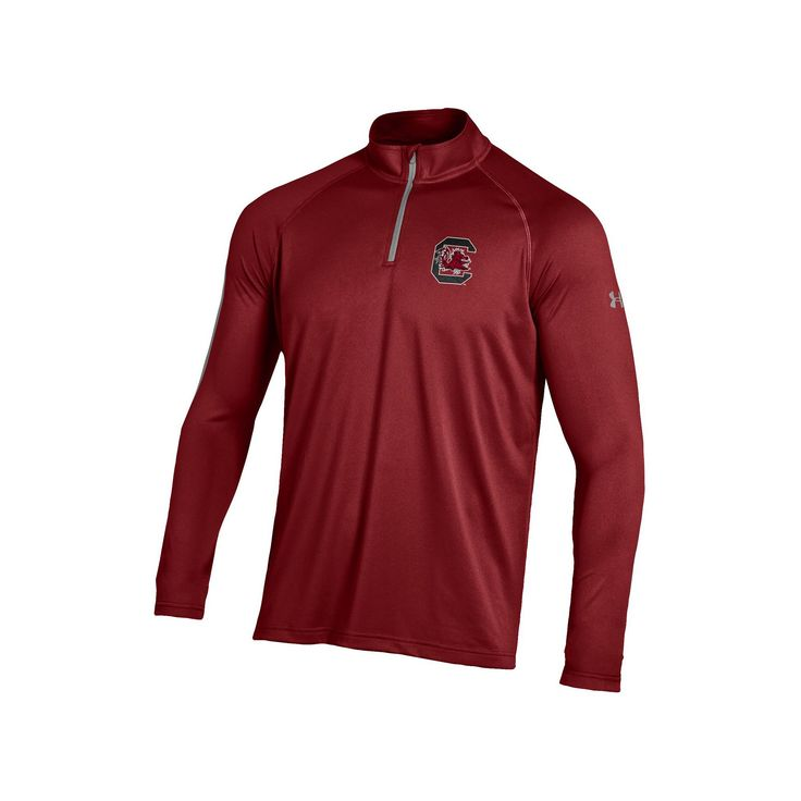 Men's Under Armour South Carolina Gamecocks Tech Pullover, Size: Small, Red