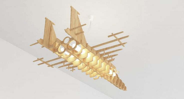 Plywood F15 lighting