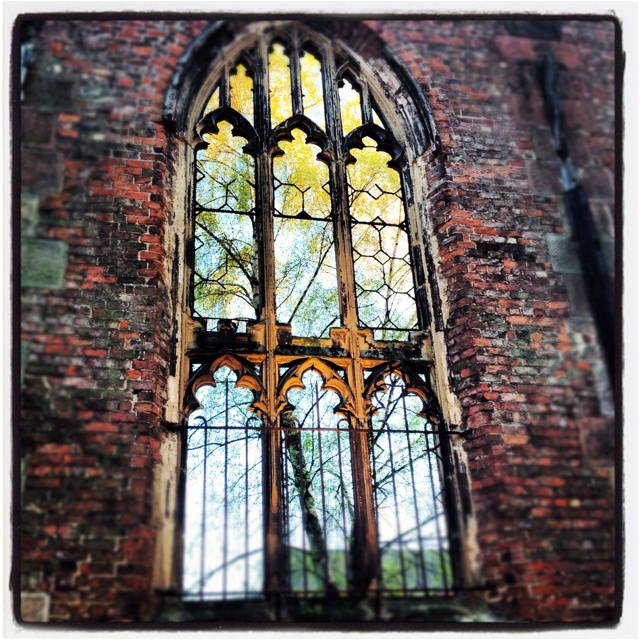 Bombed Out Church Liverpool