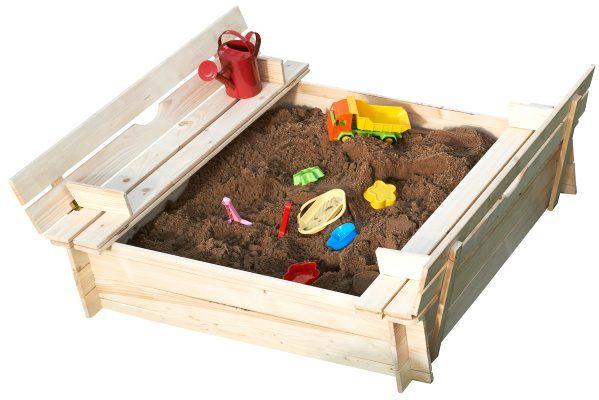 Sandkasse, sammenleggbar