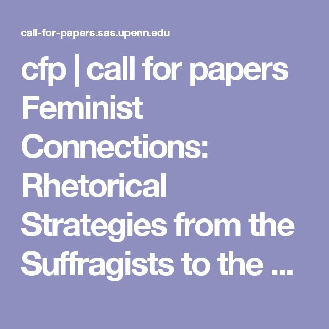 feminist rhetoric essay The online writing lab (owl) at purdue university houses writing resources and instructional material, and we provide these as a free service of the writing lab at purdue.