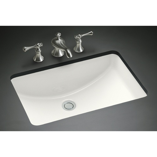 i the slope of this retangle sink kohler ladena 13540