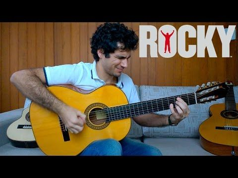 Gonna Fly Now (Theme from Rocky) - Fingerstyle Guitar (Marcos Kaiser) #57 - YouTube