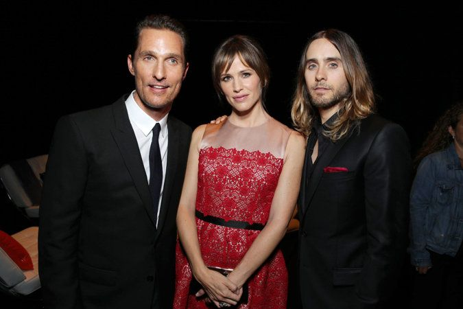 Matthew McConaughey, Jared Leto, Jennifer Garner Toronto Film Fest 2013 Damn, Jared Leto still makes my feet go pitter patter