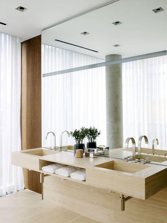 Photo Album Website George Yabu and Glenn Pushelberg Apartment in New York Bathroom ModernBeautiful