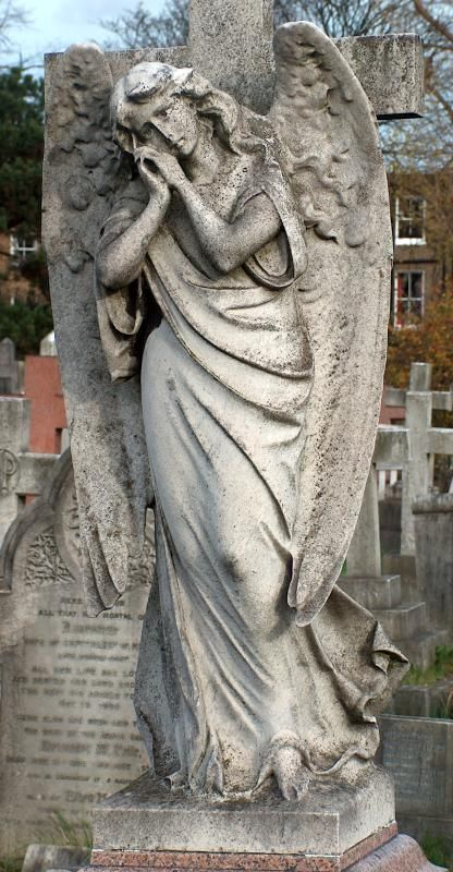 angel statues cemetery | Graveyard and cemetery angel statues