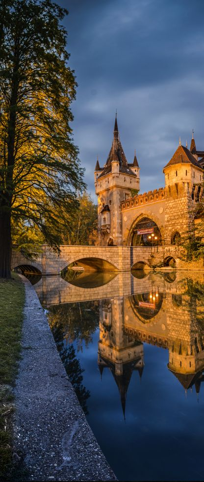 Vajdahunyad Castle, Budapest, Hungary. Re-pinned for you by #EuropassEurope.