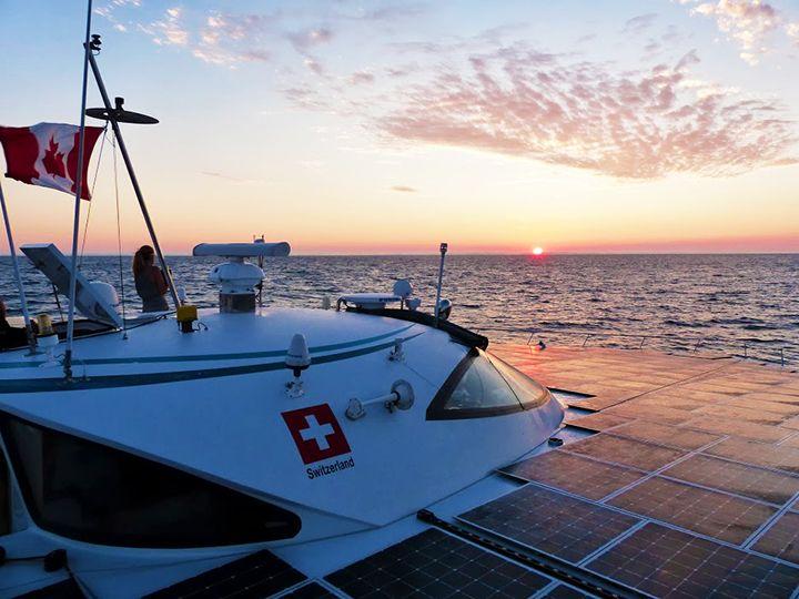 Planetsolar, World's Largest Solar Boat Reaches Nova Scotia - http://1sun4all.com/trains-planes-more/planetsolar-worlds-largest-solar-boat-reaches-nova-scotia/