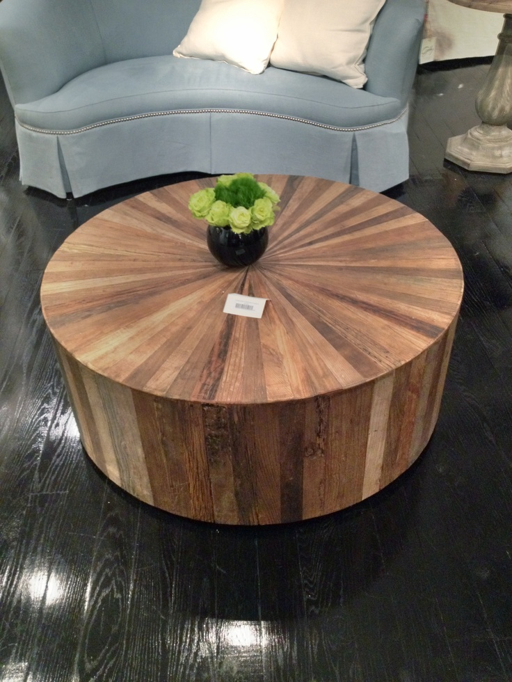Best 25 Round Wood Coffee Table Ideas On Pinterest Black And Living Es