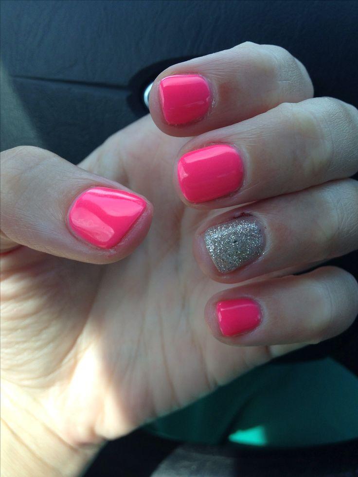 My shellac nails