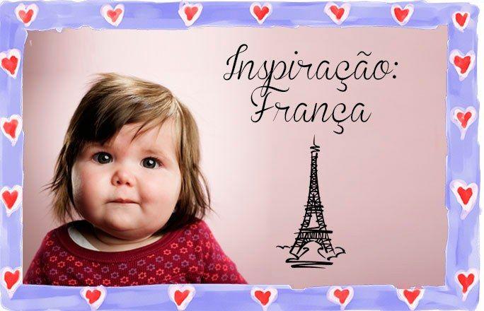 Nomes franceses para bebês