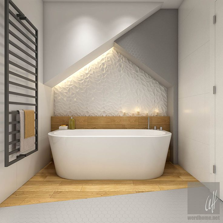 Fantastic use of textured tile and lighting