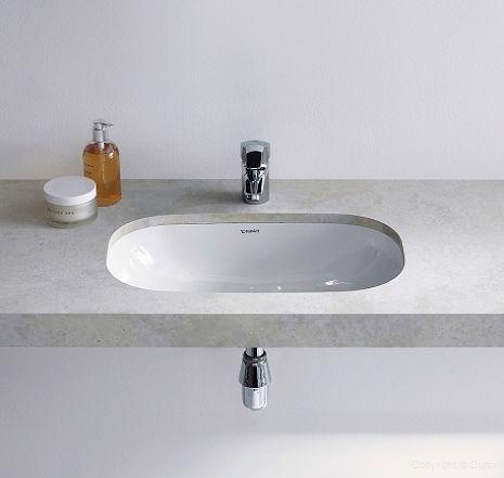 Duravit D-Code Vanity Undercounter Basin 495mm | 033849