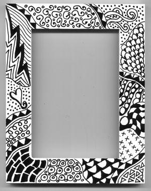 #zentangle #ideas. El Peregrino: Zentangle, arte para meditar