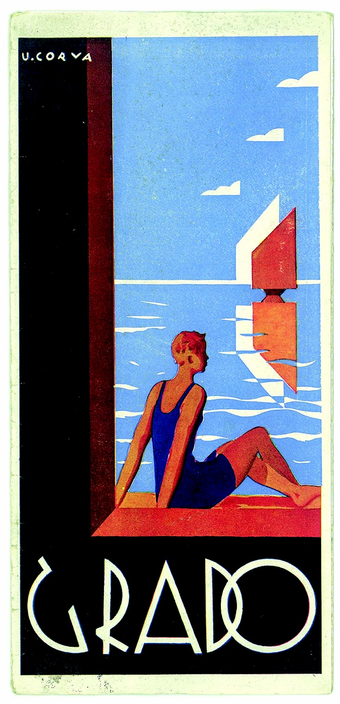 Vintage Beach Poster Art