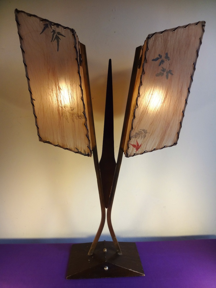 Best 25 retro lamp shades ideas on pinterest tropical lamp nice vtg 1950s 60s eames mcm atomic space age retro majestic table lamp shades ebay mozeypictures Image collections