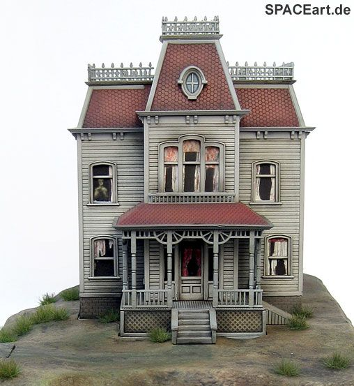 Psycho: The Bates Mansion Diorama, Fertig-Modell ... http://spaceart.de/produkte/psy002.php