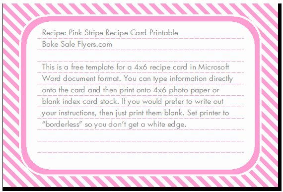 Free Editable Recipe Card Templates For Microsoft Word Free Download Printable Recipe Cards Recipe Cards Printable Free Recipe Template For Word