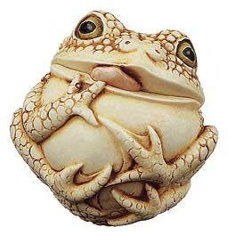 Harmony Kingdom ALFRED Roly Poly Frog