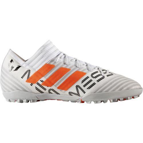Adidas Men's Nemeziz Messi Tango 17.3 Turf Shoes (White/Black, Size 10.5) - Adult Soccer Shoes at Academy Sports